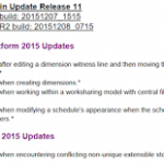Revit 2015 Update Release 11 Direct Links