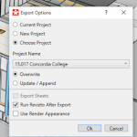 Updating or Merging the Model Content in a Revizto Cloud Project