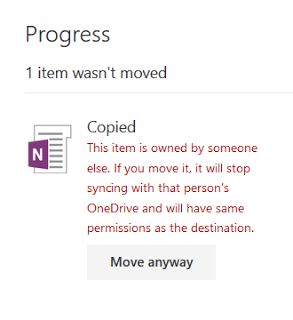 Copy OneNote Notebooks from One Account to Another
