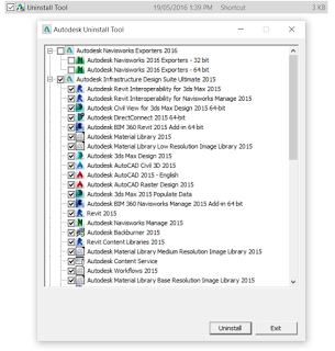 Remember to use the Autodesk Uninstall Tool » What Revit Wants