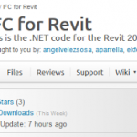 IFC for Revit Updated with Better IFC4 support (version 16.6 and 17.3 download links here)