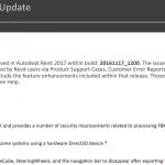 Revit 2017.1.1 Update Download Links