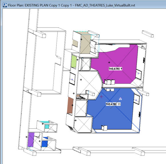 Color Fill Legend in a 3D View and See Rooms in 3D in Revit