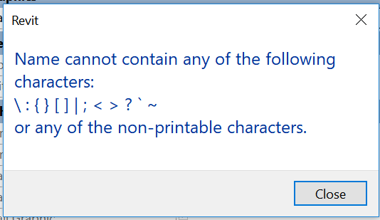 Escape Characters For Revit and External Database Connections » What