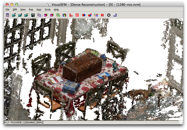 Open Source Photogrammetry Workflow with VisualSFM and