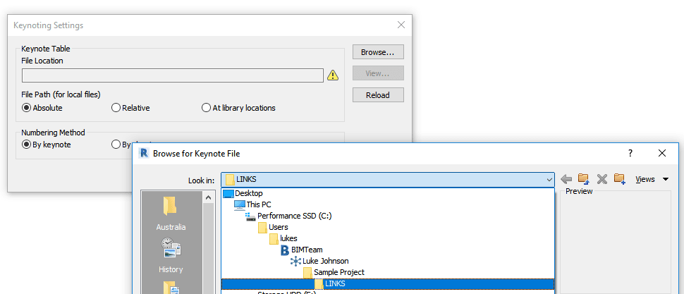 How To Use Link Files with the Autodesk Desktop Connector