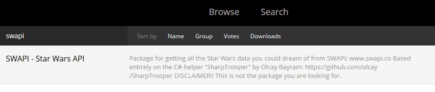 Star Wars in Dynamo