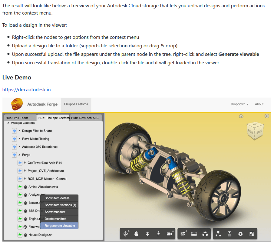 Getting Started with Autodesk Forge - The Easy Way