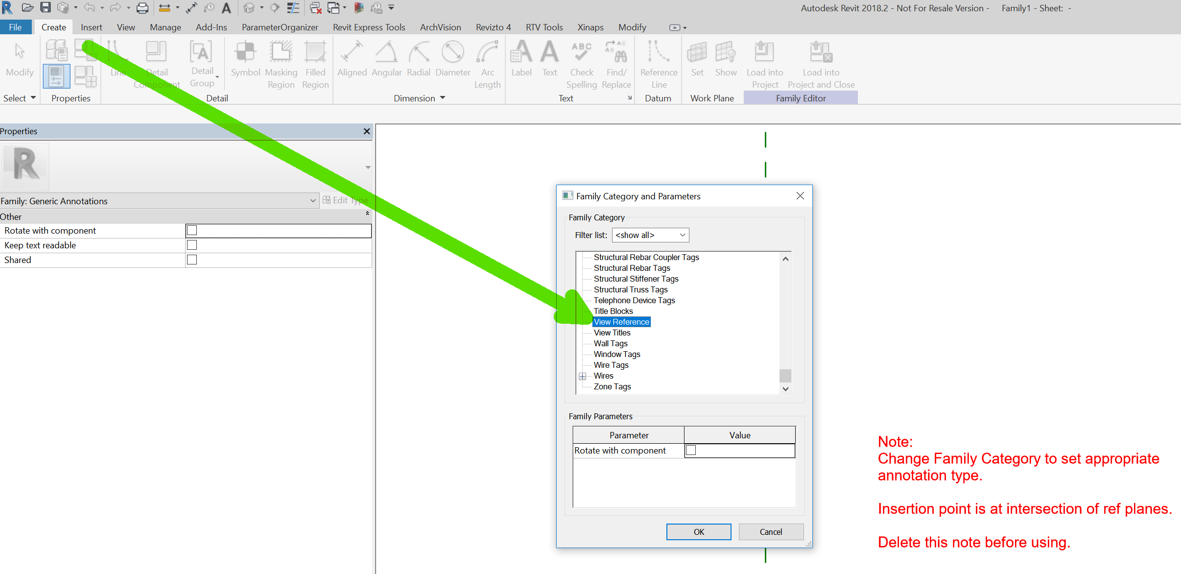 generic annotation Archives » What Revit Wants