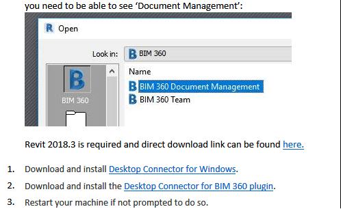 Using BIM 360 Document Management in Revit
