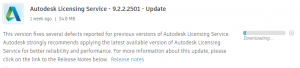 Autodesk Licensing Service 9.2.2.2501 Update Direct Download Link