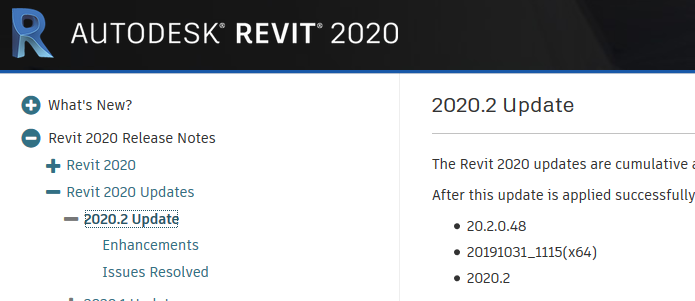 Revit update image