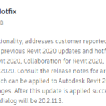 Revit 2020.2 Family Corruption and Revit 2020.2.1 Hotfix